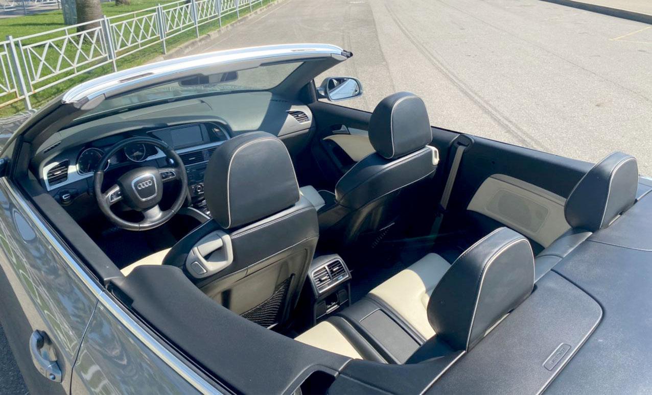 Аренда кабриолетов AUDI A5