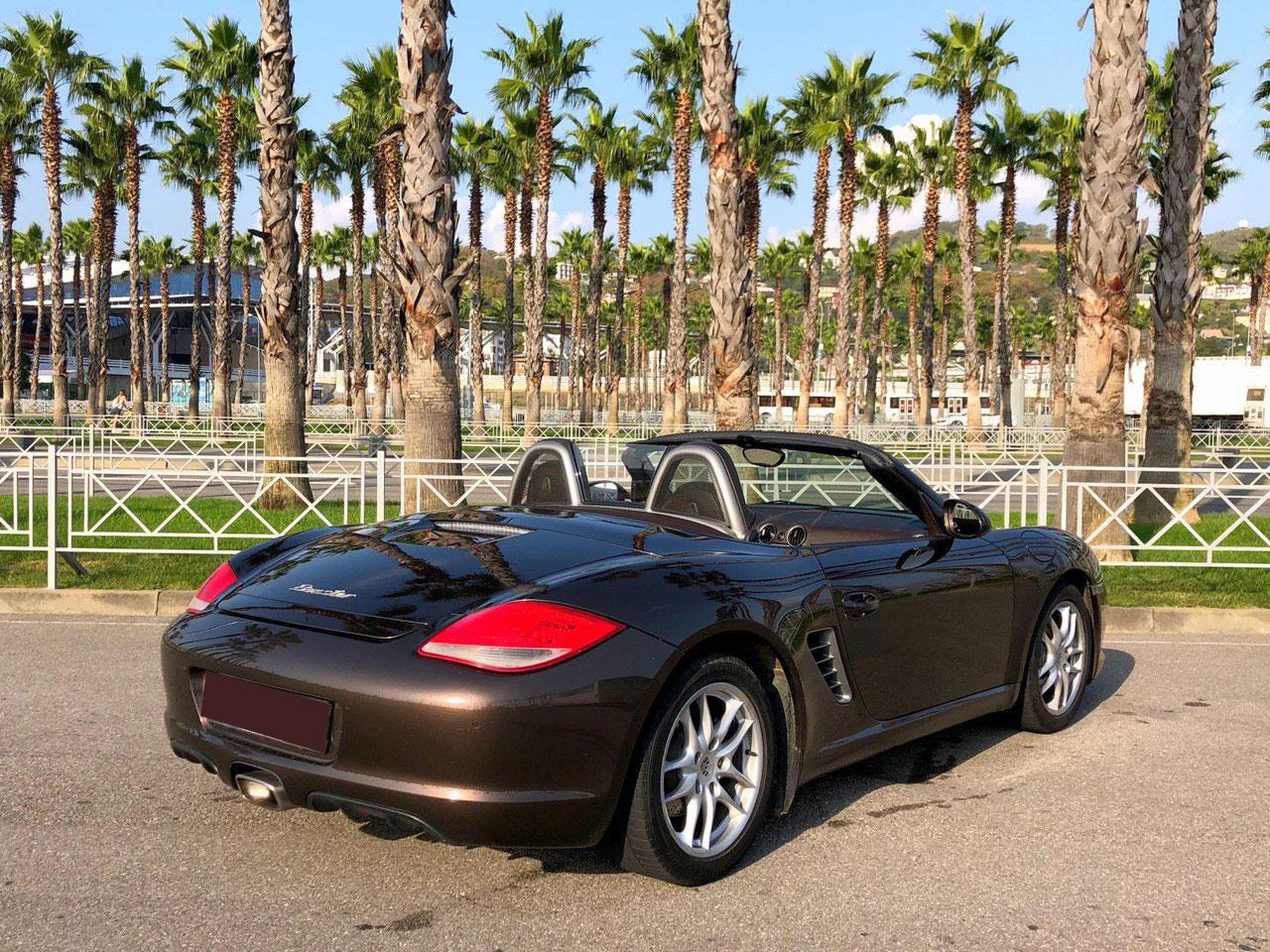 Porsche Boxster в Сочи в аренду