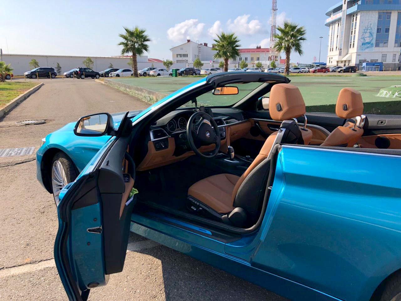 Кабриолеты BMW Cabrio в Сочи в аренду